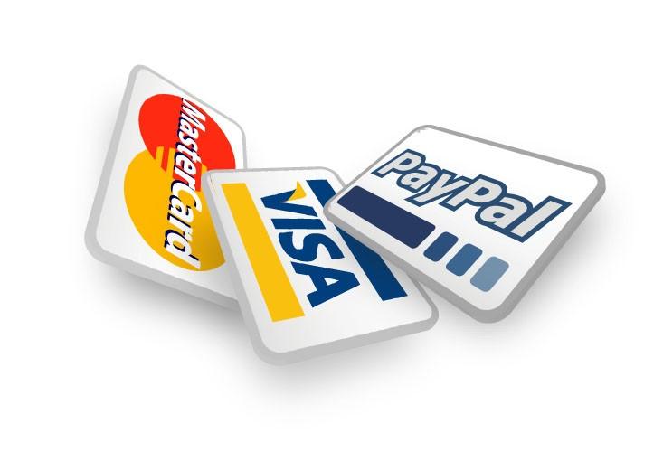Pago: Transferencia / Paypal / Tarjeta / contrareembolso